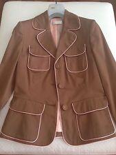 NICOLETTA RUGGIERO Skirt Suit Made in Italy Size 2