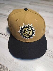 Jacksonville Suns Alt Fitted New Era Hat 59 Fifty Sz 7 1/2 Minor League Baseball