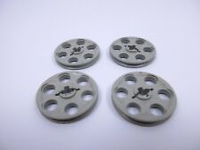 Lego technic x4 oldgray wedge belt wheel 4185 set 8479 5561 6030 9748 8280 5571