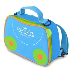 Trunki Kids Lunch Bag Backpack  2-in-1 Terrance Blue One Size