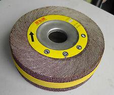 """10 Abrasive Flap sanding Wheel 6"""" x 2"""" x 1"""" Aluminum Oxide 40 Grit -Wholesale"""