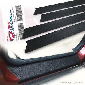 2004 - 2008 fits F-150 Ford Premium Door Sill Scuff Plate Protectors 4pc Kit Set