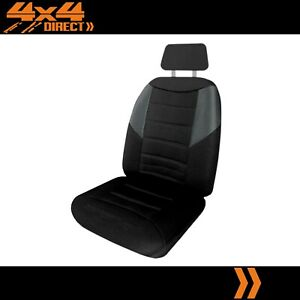 SINGLE BREATHABLE POLYESTER SEAT COVER FOR TRIUMPH TR 2