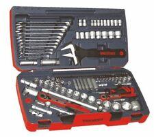 """Teng Tools 127 Pieza 1/4"""", 3/8"""" y 1/2"""" unidades Tool Kit Con Llave conjunto TM127"""