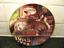 Cats Of Character Plate - The Potting Shed Cat - Royal Doulton