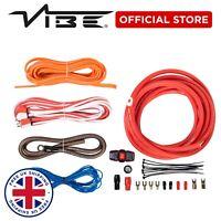 VIBE Amp Wiring Kit 2000 Watts Subwoofer Speaker Amplifier Car Audio