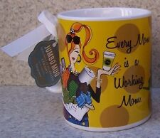 Jumbo Coffee Mug Every Mom is a Working Mom NEW 30 ounce cup with gift box