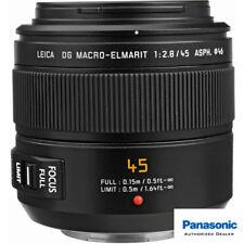 Panasonic Lumix G Leica DG Macro-Elmarit 45mm f/2.8 O.I.S. Lens *USA AUTHORIZED*
