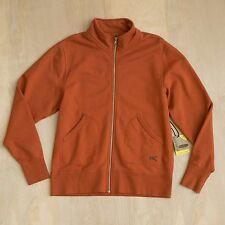 NEW $100 Men's KEEN Lodge Zip-up Cardigan Orange Bombay Brown Size M