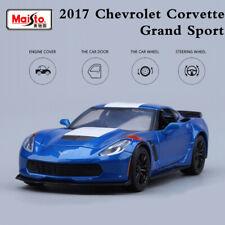 Maisto Collections 1:24 Diecast Car Model Chevrolet Corvette Grand Sport 2017