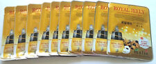 10pcs malie Korean Royal Jelly Ultra Hydrating Essence Facial Mask Sheet