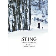 """STING """"A WINTER´S NIGHT...LIVE FROM..."""" DVD 2 DVD NEW+"""