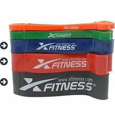 xFitness Pull Up Assist Resistance Bands For CrossFit - #3 #4 #5 Set, 40-175 lbs