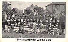 Newark Cameronian Carnival Band.