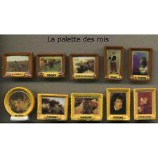 Série complète de 10 fèves La palette des rois
