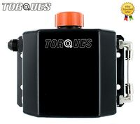 Torques 1 Litre Capacity AN-10 Oil Breather Catch Tank Can Anodized Black