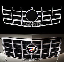 2012-13 Cadillac CTS CHROME Snap On Grille Overlay Front Grill Cover Trim Insert