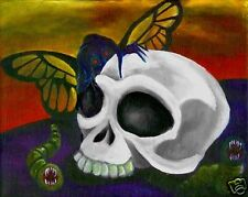 EVIL FAIRY Gothic Fantasy Art PRINT of Painting by VERN