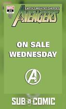 AVENGERS #34 MARVEL WEDNESDAY VARIANT (MARVEL 2020 1st Print) COMIC