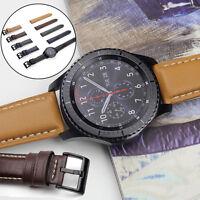 Qualitä Luxus PU Leder Uhr Armband 5 Farben Für Samsung Gear S3 Frontier/Klassic