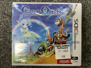 Ever Oasis Nintendo 3DS Brand New & Factory Sealed UK