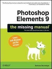 Photoshop Elements 9: The Missing Manual by Barbara Brundage (2010)