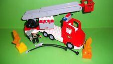 Lego Duplo 5682 Feuerwehrlöschzug-Drehleiter,Licht&Sound,Set Komplett