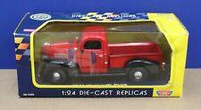Motormax 73200 1941 Plymouth Pick-up 1:24 Red MIB Mint/ Box