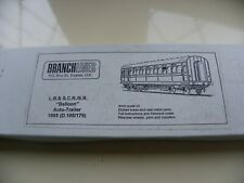 LBSCR SR Balloon Auto Coach Branchlines Brass kit 4.3 D.105/179 OO EM P4 Ltd Ed.