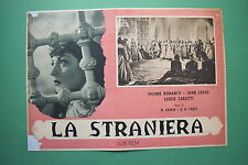 P3 FOTOBUSTA CARTONATA LA STRANIERA VIVIANE ROMANCE LODGE PABST 6