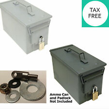 aLocking Hardware for Ammo Can 20 to 50 Cal Steel Box Case Ammunition Container