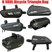 B SOUL Bicycle Cycling Triangle Bag Bike Frame Front Tube Bags Waterproof Pouch