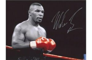 Mike Tyson Signed Print