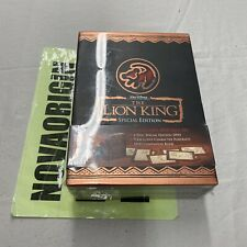 *SEALED* THE LION KING LIMITED SUPPLY SPECIAL EDITION COLLECTORS GIFT SET (DVD)