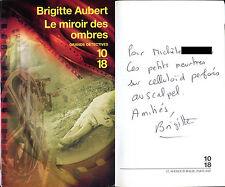 Brigitte Aubert - Le miroir des ombres - EO 2008 - ENVOI