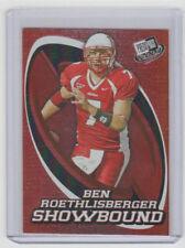 """BEN ROETHLISBERGER Steelers 2004 Press Pass """"Showbound"""" #SB6 SP RC Insert MINT"""