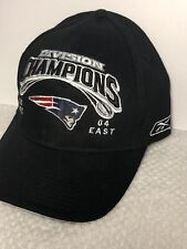 eba1caf6 New England Patriots 2004 Division Champions NFL On Field Baseball Hat By  Reebok