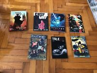 graphic novel lot collection TPB And One Hardcover