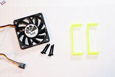 More details for hp p420 sata raid sas card cooler 60mm cooling fan, mount bracket clip & screws
