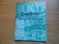 Werkstatthandbuch Schaltpläne Stromlaufpläne KIA Carens Modelljahr 2001