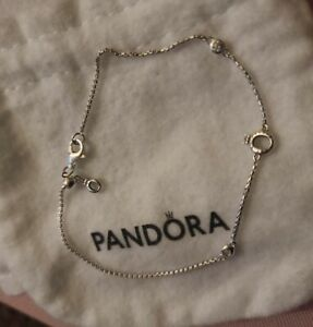Authentic Pandora Crown O Sliding Bracelet-20 cm