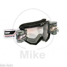 PROGRIP CROSSBRILLE XL Roll-Off Motorradbrille Brille Race Pack 3208 Offroad MX