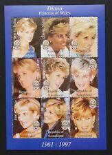 Somalia-Diana Princess Of Wales-1M/Sh, MNH, SOM 028