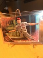 2016 Topps Series 1 Pink Jay Bruce #'d 3/50 Reds/Phillies #199