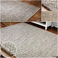 Claghorn Hand Tufted Wool Grey Rug Ebay