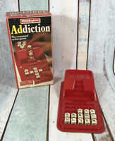 Waddingtons Addiction Word Game Vintage 1984 Red Box