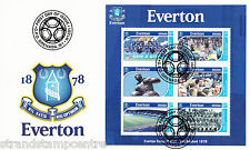 Everton FC - Premiership Football Commemorative Stamp Sheet from Grenada