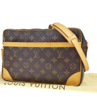 Auth LOUIS VUITTON Trocadero 30 Shoulder Bag Monogram Leather BN M51272 15MC990