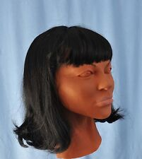 Female Mask Venessa Diva Latex Cosplay Masks  With Wig