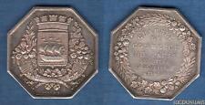 Chambre de Commerce de Paris 25 Février 1803 / Jeton Argent